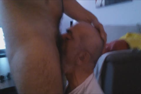 A First video Of The Great Deepthroating Session And Face fucking With The large cock Of 