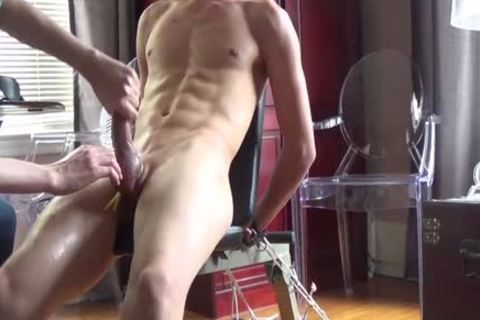 I Think I Have A new lad!  21 Year old guy And he loves Sir Training His rod For Him.   ;) This Is Footage From A 90 Minute Training Session, And finally At The End I Let That sexy cock Of His Explode