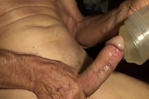 I Got Out The old Fleshjack And Used It whilst Watching A naughty clip Here On The Xtube. Came Hard And Made A nice Mess!