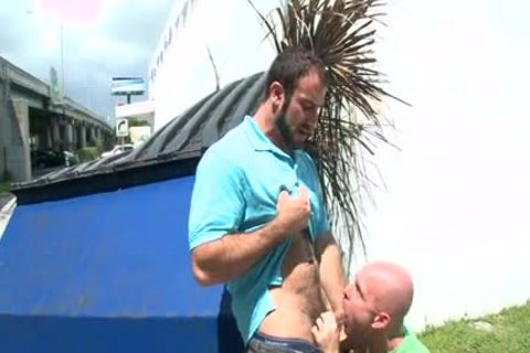 Spencer Reed In Public slamming HD