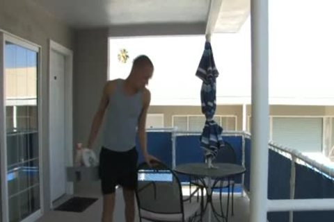 Hotel Guest bonks His Maid lad By Pool