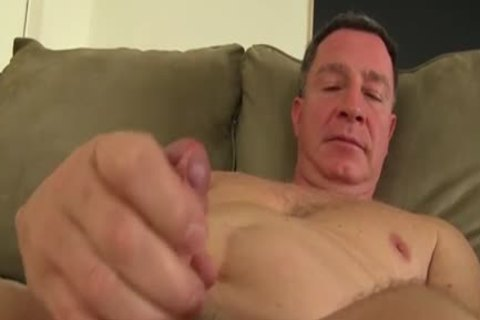 large dick Daddy Carlos Beats Off And Cums large