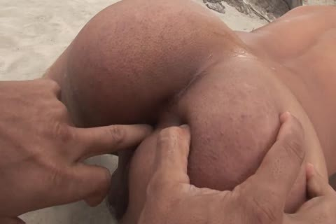 Tanned young boy pounded hardcore By His Boyfriend's weenie On The Beach