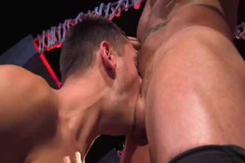 Austin Wolf  Uses Brenner's throat & wazoo