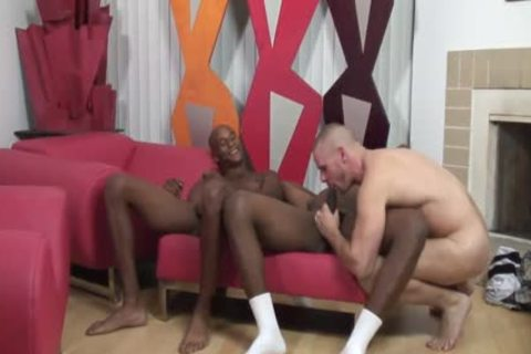 muscular White stud Getting Shared By darksome Thugs