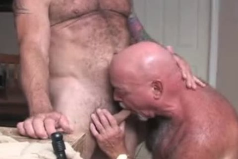 hairy guys never Give Up On Rim Job