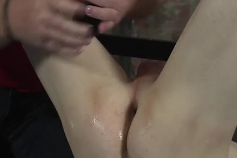 James Lewis shaved And drilled By The taskmaster Sebastian Kane