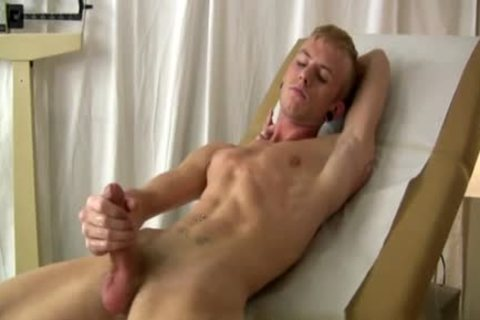 Jerking The dick And The guy Lest The cum shoot out