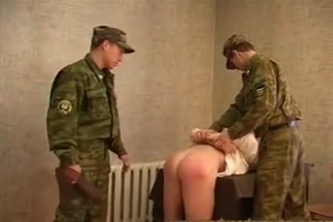 Russian Army thrashing And pounding
