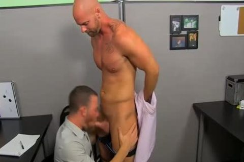 Mitch Vaughn Licks Parkers anal previous to Sticking His dick In