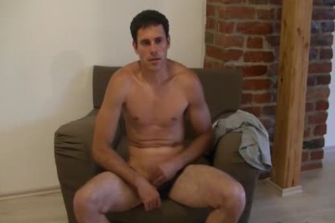 nasty twink Luka loves wanking His penis On A Comfy Chair