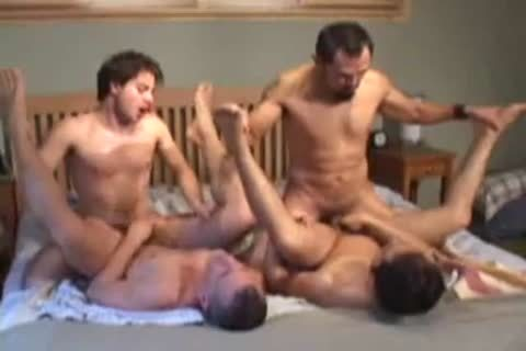 juicy gay Foursome nail