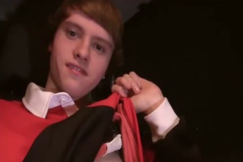 gigantic Wide Tool hairless wanking For The Camera And Spilling cum