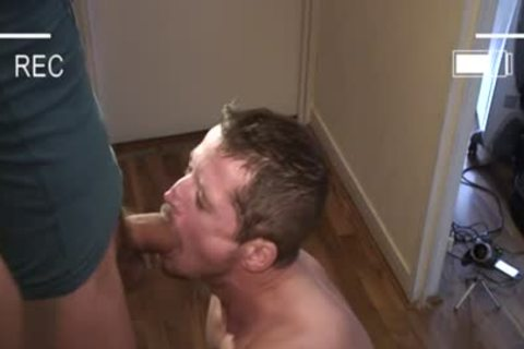 Muscle gay oral stimulation With Facial