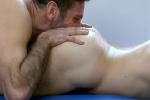 large jock homosexual a bit of wazoo And Massage