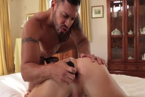 Russian homosexual Keister To face hole With ball cream flow - BoyFriendTVcom