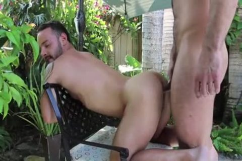 bushy Son butthole To mouth And Facial