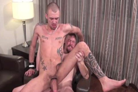 Muscle Son oral With cumshot