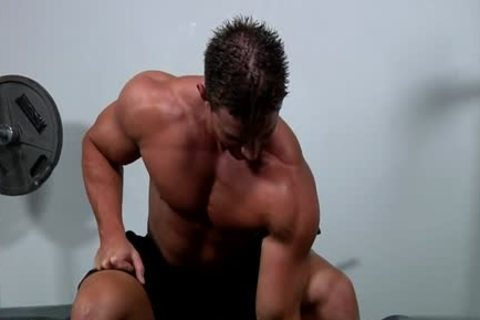 Muscle homo oral And cumshot