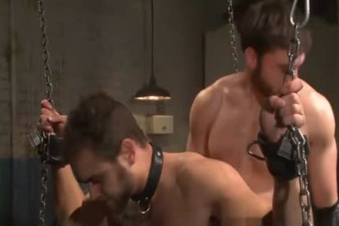 Spencer philip in very extreme gay bondage action