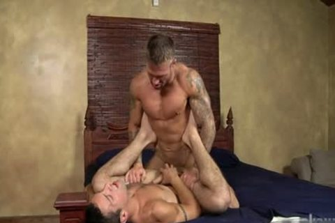 Muscle homosexual anal job And goo flow