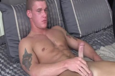 large 10-Pounder homosexual oral-service And cumshot