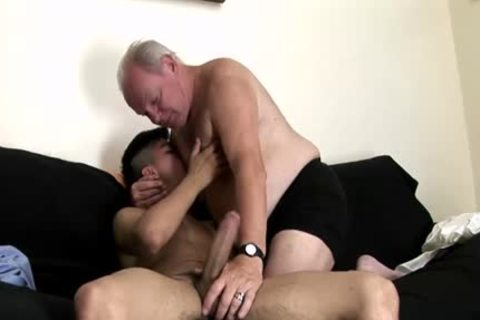 massive dong Daddy butthole With cumshot