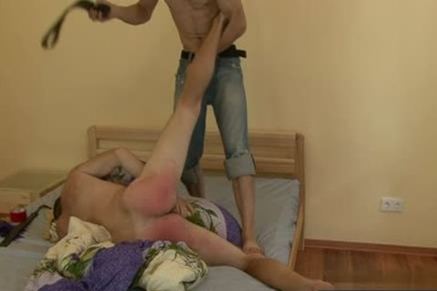 Russian twinks spanking With cock juice flow