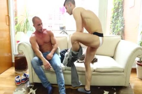 large weenie homo anal-copulation With Facial
