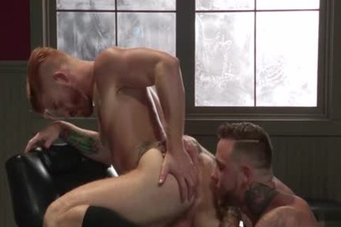 Muscle Bear anal sex And Facial love juice