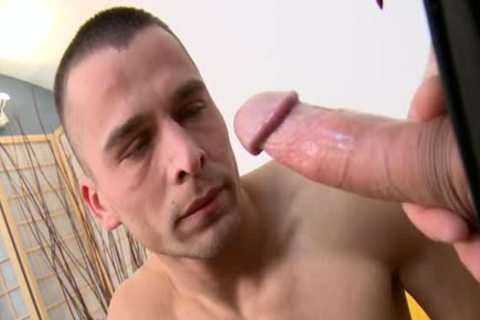 big rod Daddy Casting With Facial