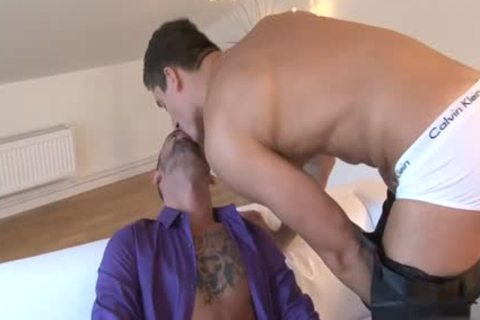 massive 10-Pounder homosexual a bit of anal And cumshot