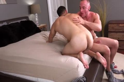 Muscle gay ass job And goo flow