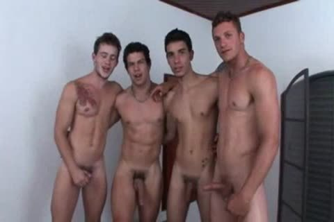 Four friends In A group-sex poke
