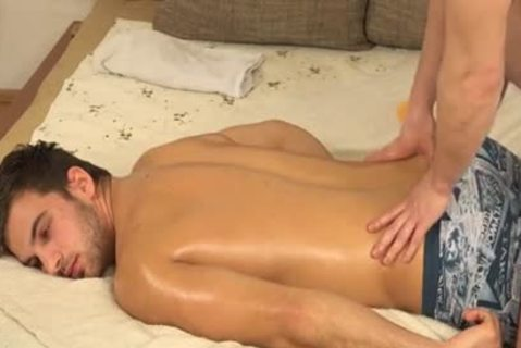 twink gets Massage