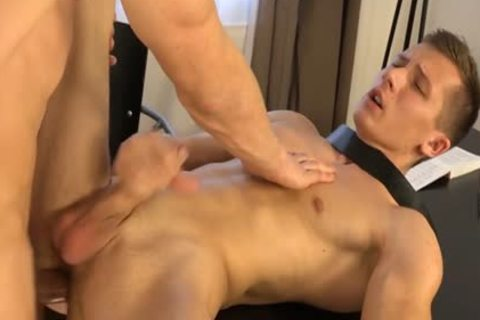 Muscle twinks dp with ejaculation