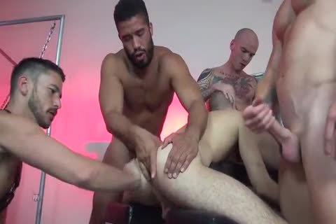 bareback group-sex With Multiple Creampies