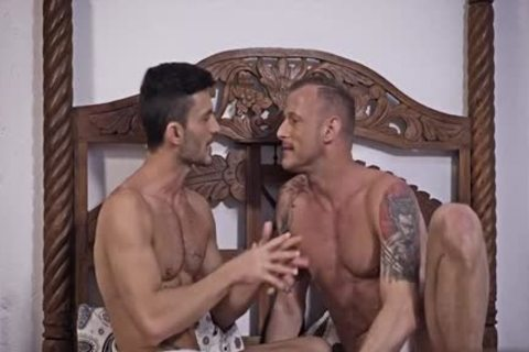 gigantic cock gay unprotected And Facial