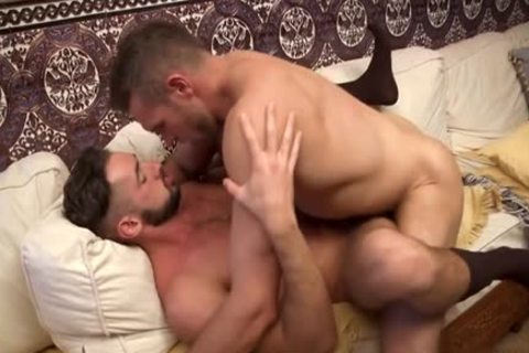 Muscle gay Flip Flop With sperm flow