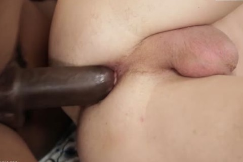 A monstrous darksome rod In His lusty White pooper