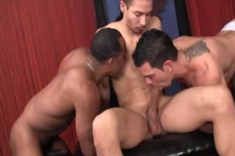 attractive LATIN CRISTOBAL acquires His a-hole Tagged By Rico And Samson black