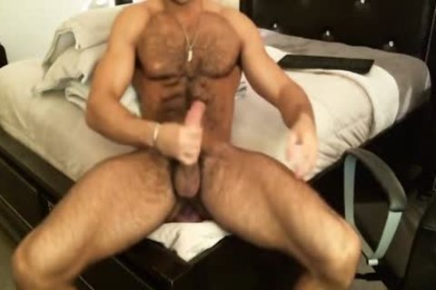 Hunk Sean Zevran dildos His pooper And Cums On web camera