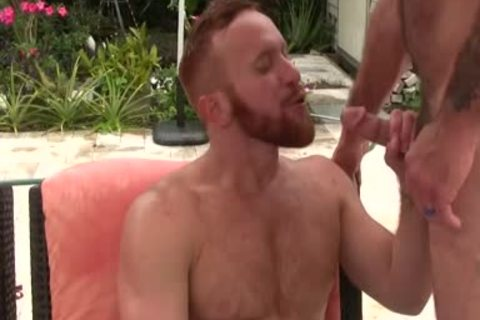 beautiful bushy dad nails Ginger Sun - cum cum cum