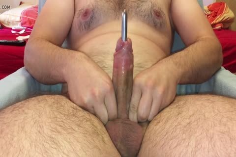 Intense penis Stuffing With cumshot