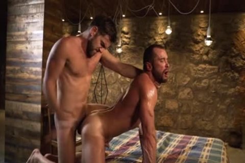 Tattoo gay Flip Flop With ejaculation
