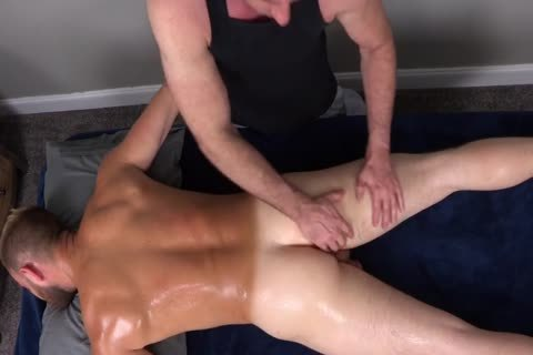 7a hairy Muscle Massage With butthole-ramming