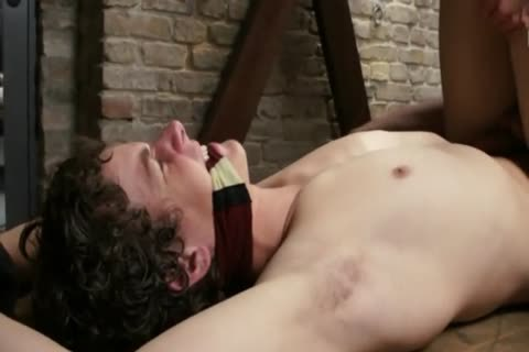 bound lad Beplayed By coarse Soldier