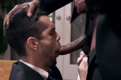Giving Your darksome Boss A oral And Getting Barebacked