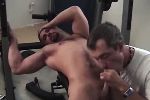 Tory Works Out And Wanks