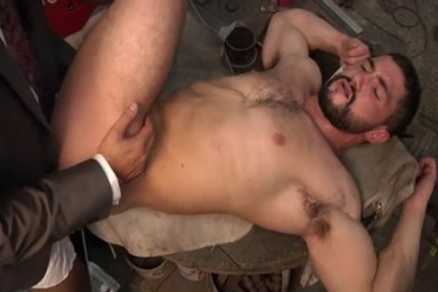 Muscle gay anal invasion And Facial